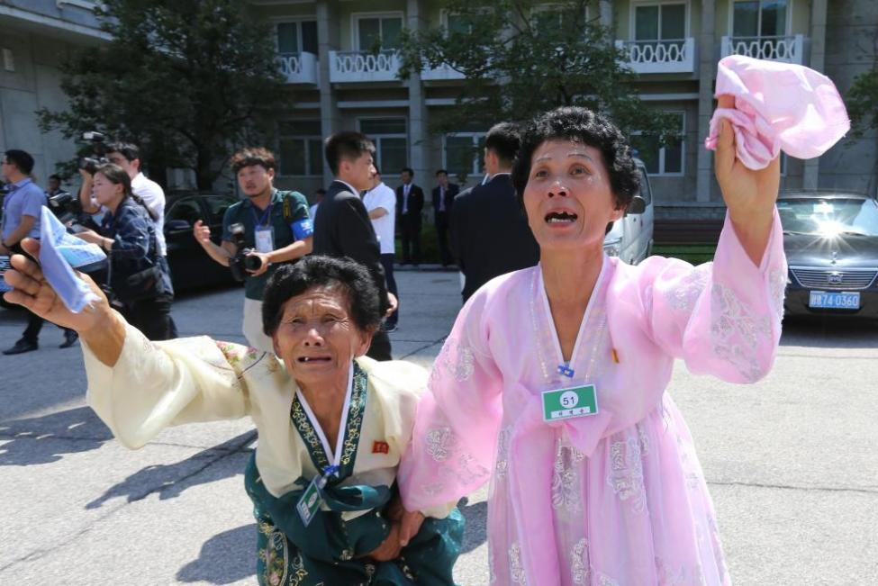 Families Reunited after Decades of Separation: Hope for Korean Reunification