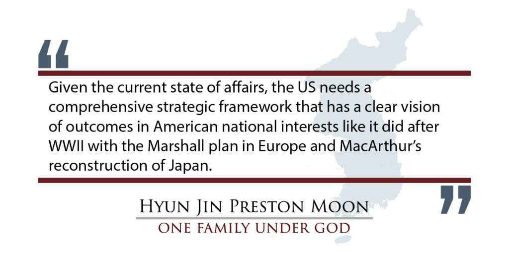 International Forum on One Korea 2018 Keynote Address by Dr. Hyun Jin P. Moon