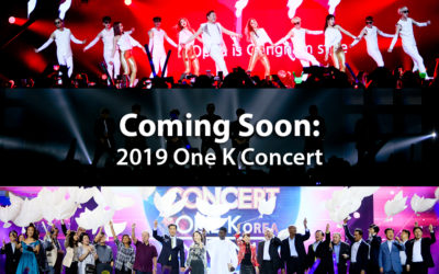 K-Pop Stars Sing for Korean Reunification at the Third One K Concert to be Held in Seoul