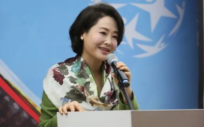Global Peace Convention 2019 Keynote Speaker, Dr. Jun Sook Moon, Addresses Women's Role in Realizing Korean Reunification and Global Peace