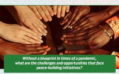 An Opportunity for Peacebuilding Leaders Amidst the Global Pandemic