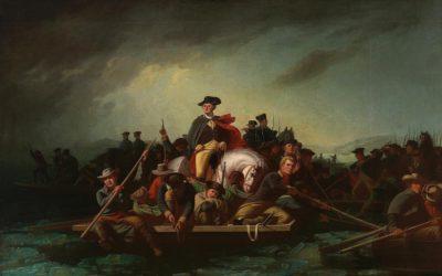 Veterans Day Memorial: Washington's Delaware Crossing